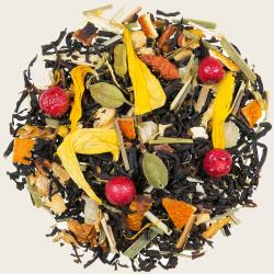 Schwarzer Tee Frühlingsduft
