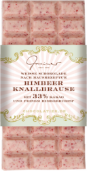 Gmeiner Schokolade Himbeer-Knallbrause